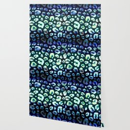 Animal Skin Abstract Leopard Pattern Wallpaper