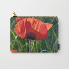 Red Poppies on the summer meadow Carry-All Pouch