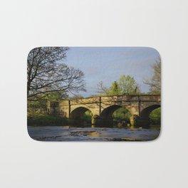 River Manifold Bridge Ilam Village Bath Mat
