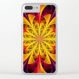 The Fractal Universe Clear iPhone Case