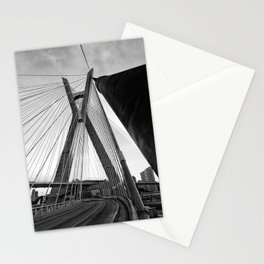 Sao Paulo City Bridge Stationery Cards