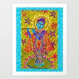 Shri Krishna Art Print