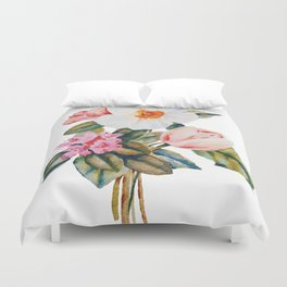 Loose Spring Bouquet Duvet Cover