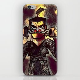 Samurai Jack Zentangle iPhone Skin