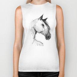 Horse (a head) Biker Tank