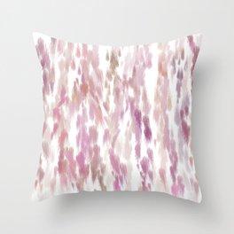 Pink Peaches  Throw Pillow