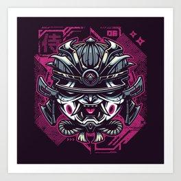 Murashi Samurai Art Print