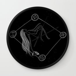 Light Reading Wall Clock