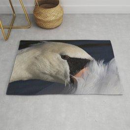 The Shy Swan Rug