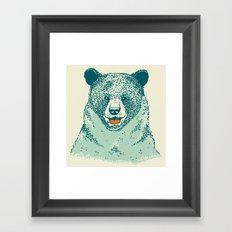 Happy Bear Framed Art Print