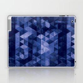 Blue Geo Laptop & iPad Skin