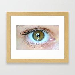Young Eye- A Framed Art Print