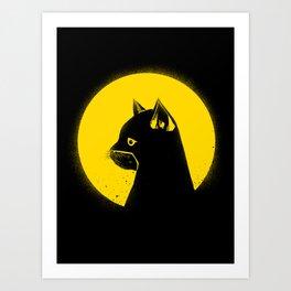 Hero Cat Art Print