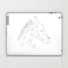 GIRAFFE LINE ART Laptop & iPad Skin