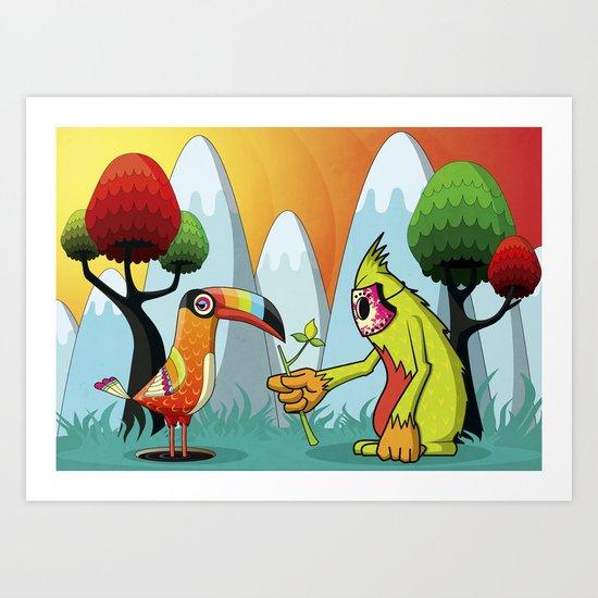 Magic Breed Art Print