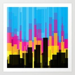 Skyline 10 Art Print