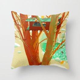 Other Life Throw Pillow
