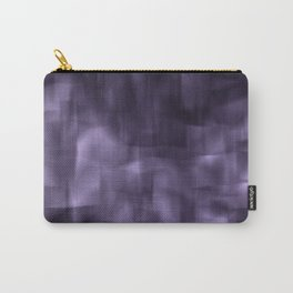 Purple abstract painting. Carry-All Pouch