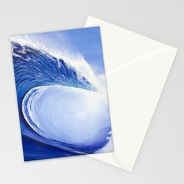 Ocean Wave Painting Stationery Cards
