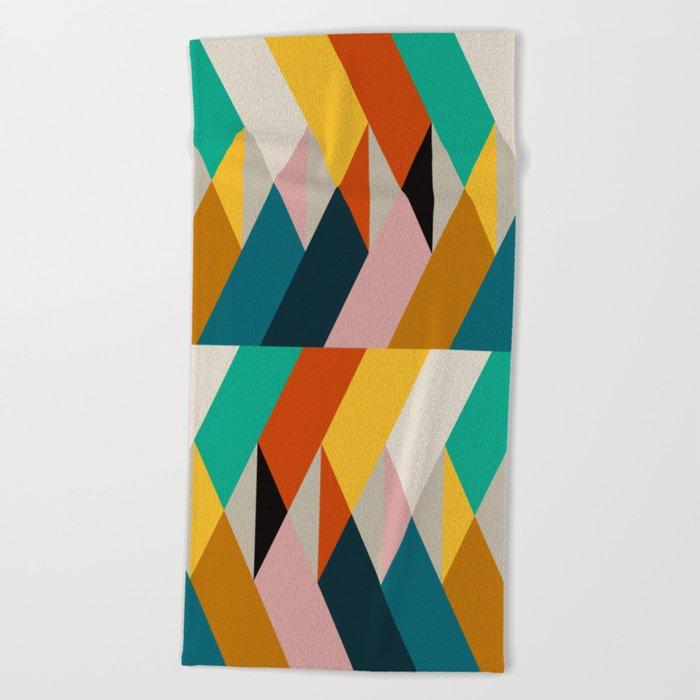 Fragments VIII Beach Towel