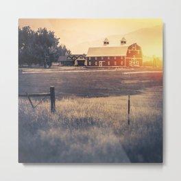 Daybreak Square Format Metal Print