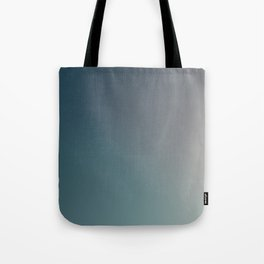 Dark Blue to Gray Faded Ombre Tote Bag