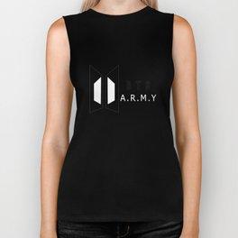 BTS ARMY Logo Biker Tank