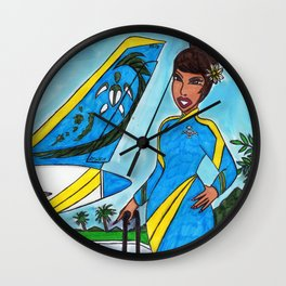 South Pacific Wall Clock