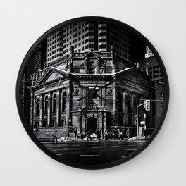 The Hockey Hall Of Fame Toronto Canada Wall Clock