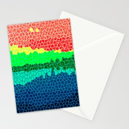 Sunset on Tropical Island Stationery Cards