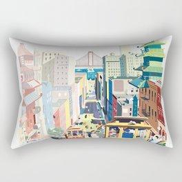 Sanfrancisco vintage mode Rectangular Pillow