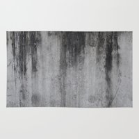 concrete Area & Throw Rugs featuring Concrete by Shamgar