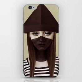 Ceci n'est pas un chapeau iPhone Skin
