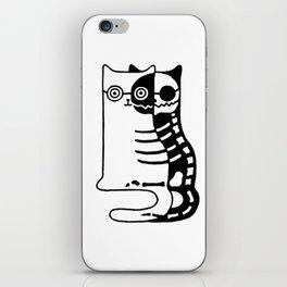 Schrodingers Cat – Quantum paradox iPhone Skin