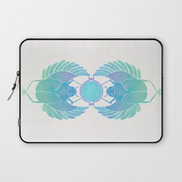 Egyptian Scarab – Turquoise Ombré Laptop Sleeve