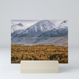 Autumn in Alaska Mini Art Print
