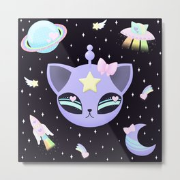 Space Cutie Metal Print