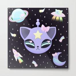 Space Cutie Metal Print