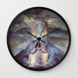 Hostage to the Light Wall Clock