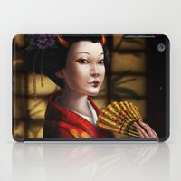 japanese iPad Cases featuring Japanese by Ayu Marques
