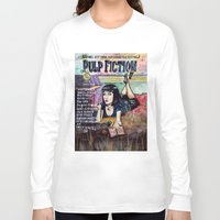 pulp fiction Long Sleeve T-shirts featuring Pulp Fiction by Jessis Kunstpunkt.