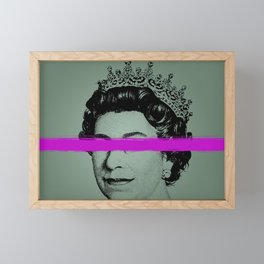 Queen Elizabeth Framed Mini Art Print