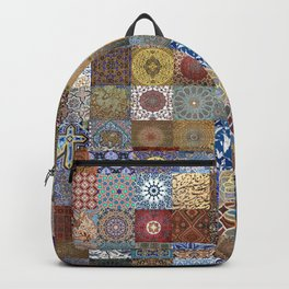Persian Art Montage Backpack