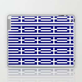 flag of greece 2-Greece,flag of greece,greek,Athens,Thessaloniki,Patras,philosophy,theater,tragedy Laptop & iPad Skin