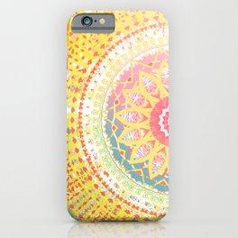 Sunkissed Mandalas iPhone Case