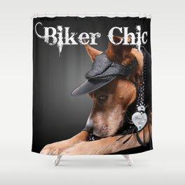 Biker Chic Shower Curtain