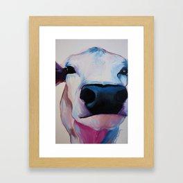 Moomoo Framed Art Print