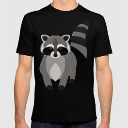 Red Raccoon Rascal T-shirt