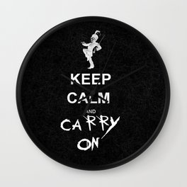 Keep Calm and Carry On: My Chemical Romance Wall Clock