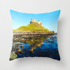 Holy Island Throw Pillow